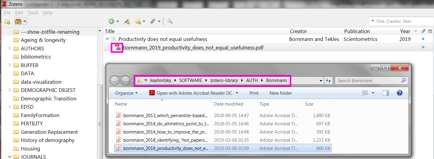 Zotero hacks: unlimited synced storage and its smooth use